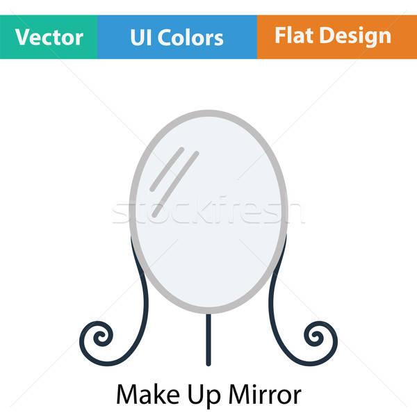 Make Up mirror icon Stock photo © angelp