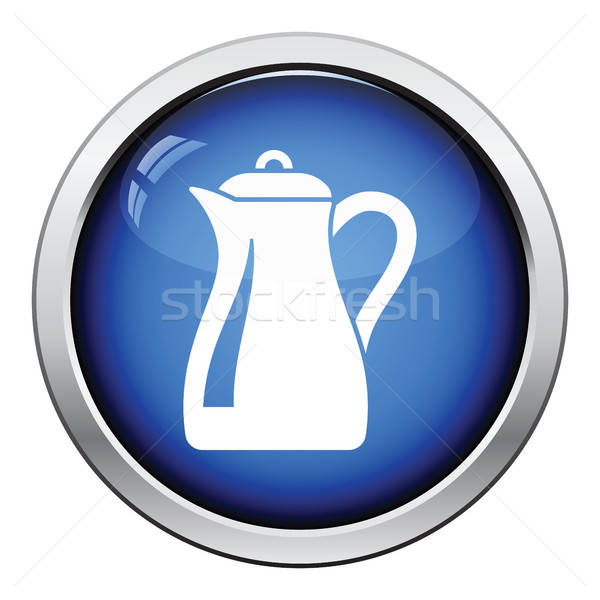 Glass jug icon Stock photo © angelp