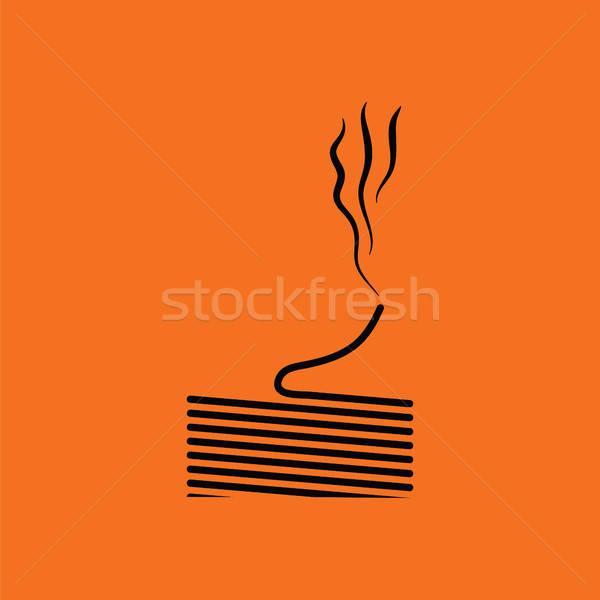 Solder wire icon Stock photo © angelp