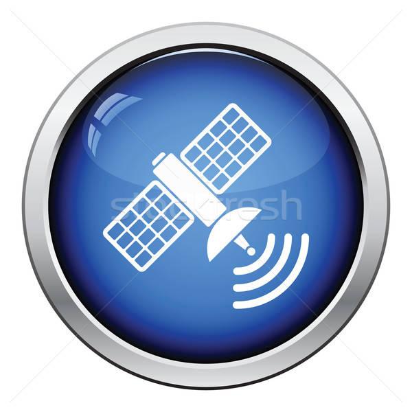 衛星 アイコン ボタン デザイン 技術 ストックフォト © angelp