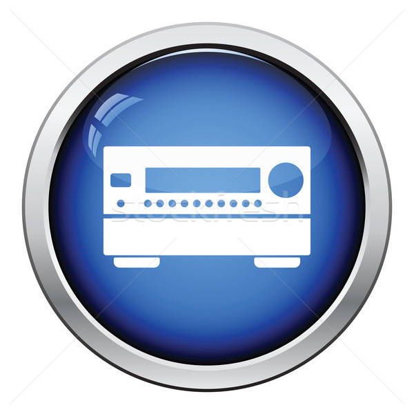 Home theater receiver icon Stock photo © angelp
