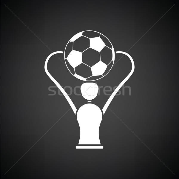 Soccer cup  icon Stock photo © angelp