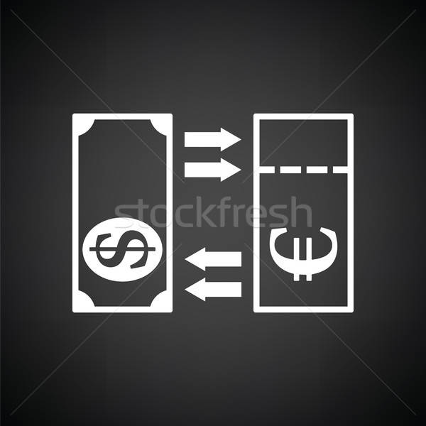 Currency exchange icon Stock photo © angelp