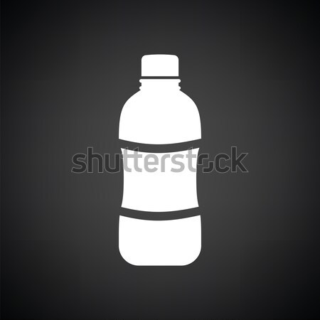 Water bottle icon Stock photo © angelp