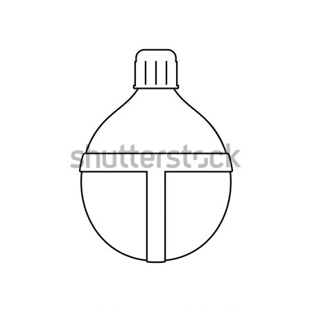 Attack grenade icon Stock photo © angelp