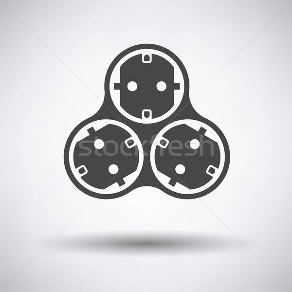 AC splitter icon Stock photo © angelp