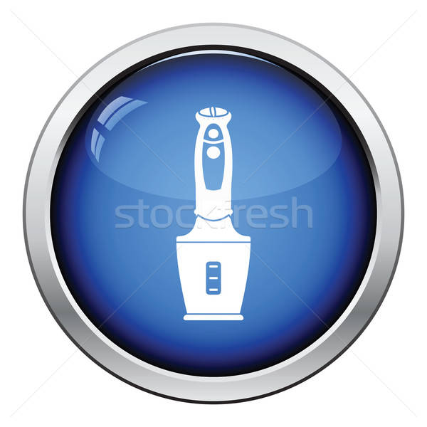 Stock photo: Baby food blender icon