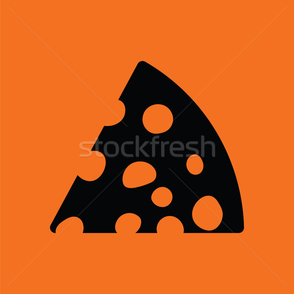 Cheese icon Stock photo © angelp