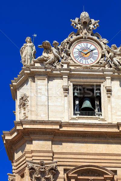 Vaticano catedral Roma Europa viaje Foto stock © angelp