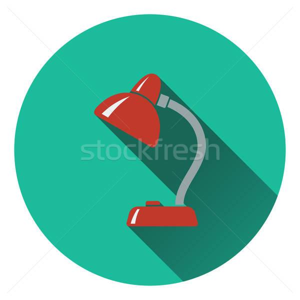 Diseno icono lámpara ui colores oficina Foto stock © angelp