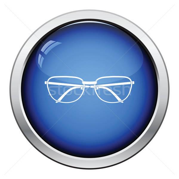 Glasses icon Stock photo © angelp