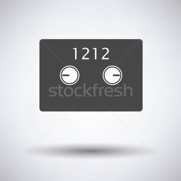 Safe cell icon Stock photo © angelp