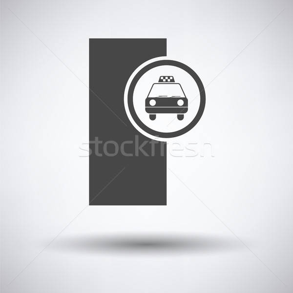 Taxi station icon  Stock photo © angelp