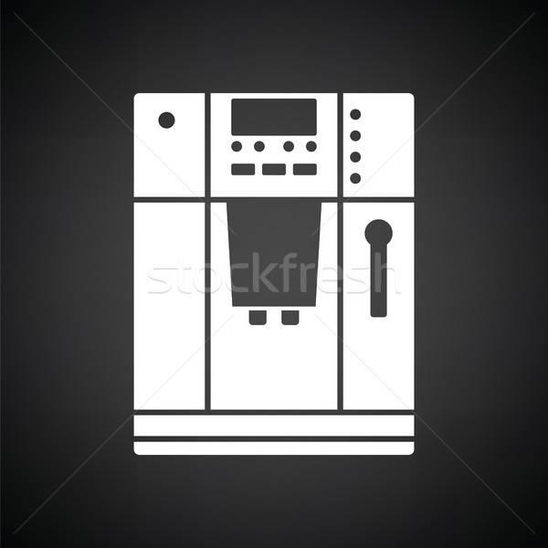 Kitchen coffee machine icon Stock photo © angelp