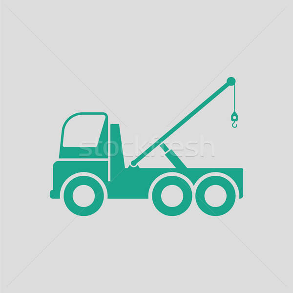 Car towing truck icon Stock photo © angelp