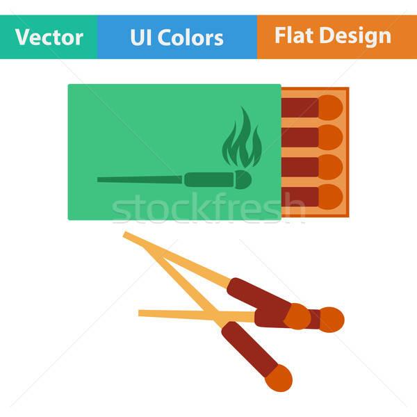 Design icona match finestra ui colori Foto d'archivio © angelp