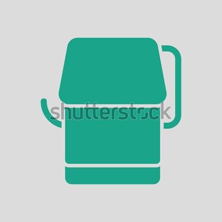 Carta igienica icona colore design segno stanza Foto d'archivio © angelp