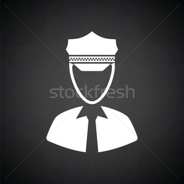 Stock photo: Taxi driver icon