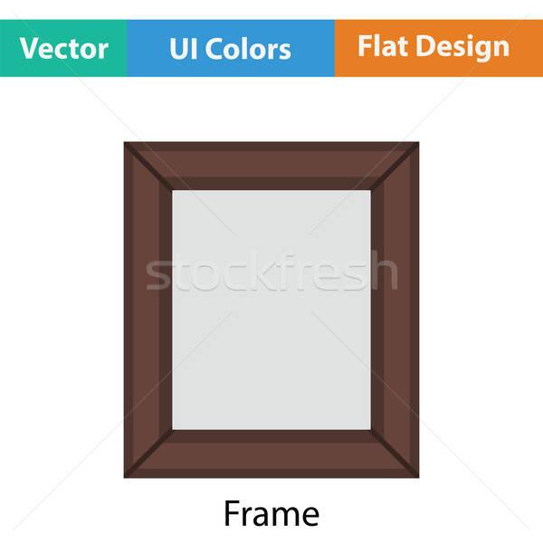 Quadro de imagem ícone cor projeto quadro espaço Foto stock © angelp