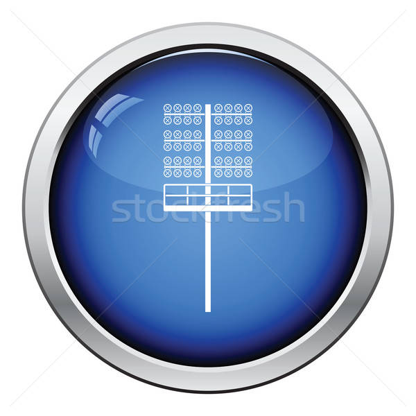Icon of football  light mast Stock photo © angelp