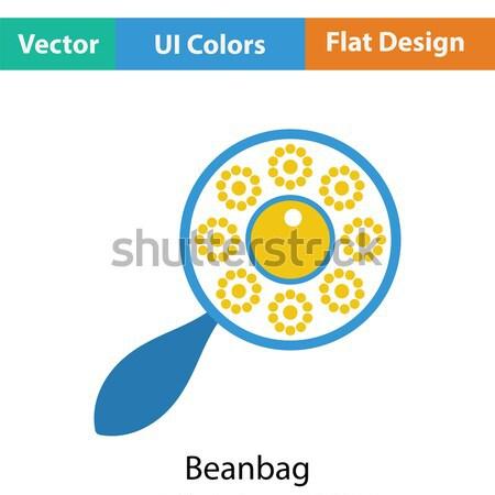 Beanbag icon Stock photo © angelp