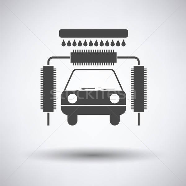 Car wash icon Stock photo © angelp