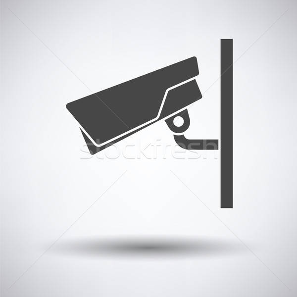 Security camera icon Stock photo © angelp