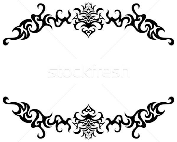 gothic frame Stock photo © angelp