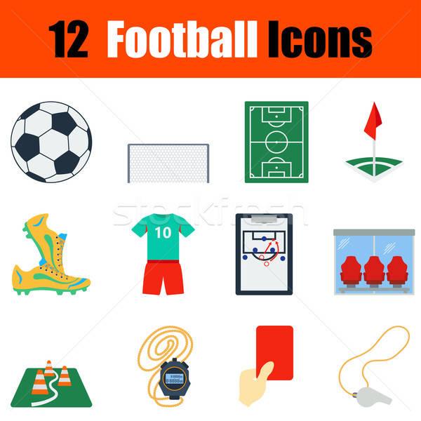 ストックフォト: デザイン · サッカー · ui · 色 · サッカー