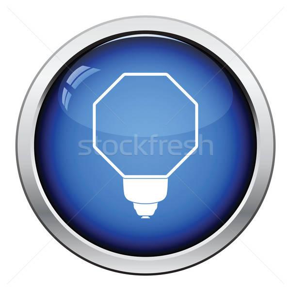 ícone portátil moda flash botão Foto stock © angelp