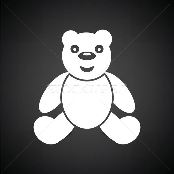 Teddy bear ico Stock photo © angelp