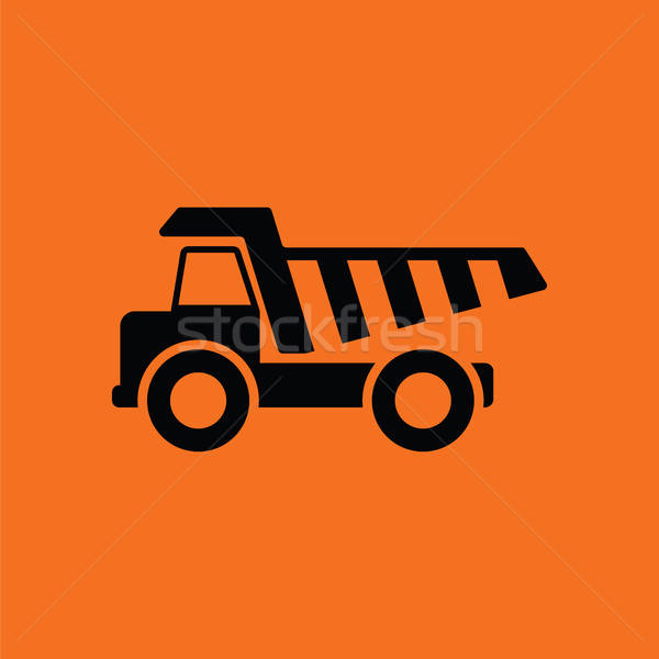 Icon of tipper Stock photo © angelp
