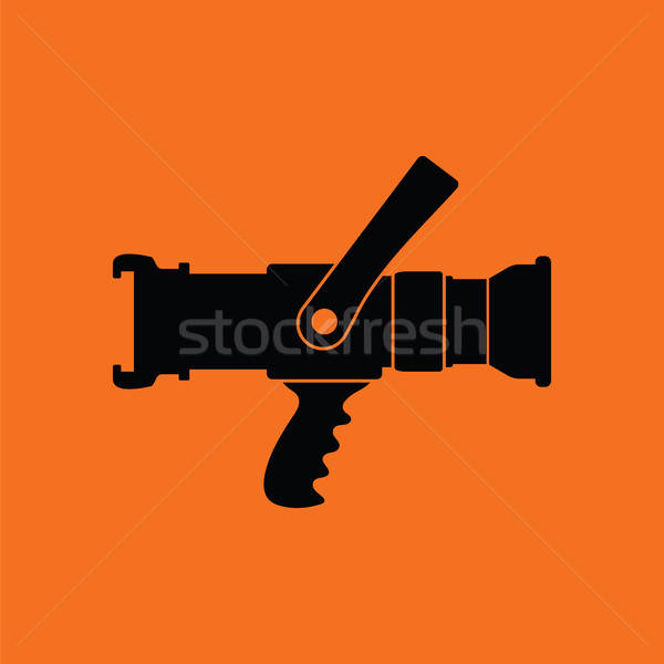 Fire hose icon Stock photo © angelp