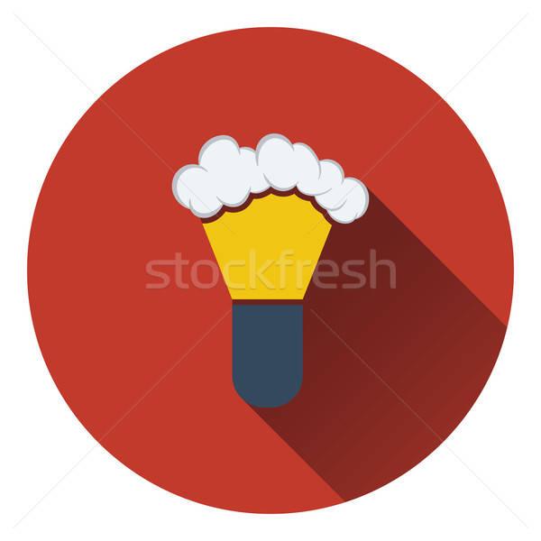 Ecset ikon szín terv férfi haj Stock fotó © angelp