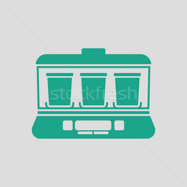 Yogurt maker machine icon Stock photo © angelp