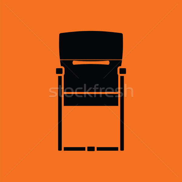 Guest office chair icon Stock photo © angelp