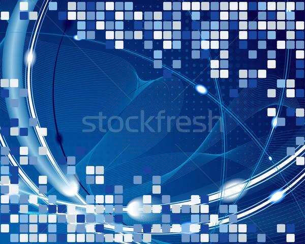 Abstract business web design ontwerp schoonheid kunst Stockfoto © angelp