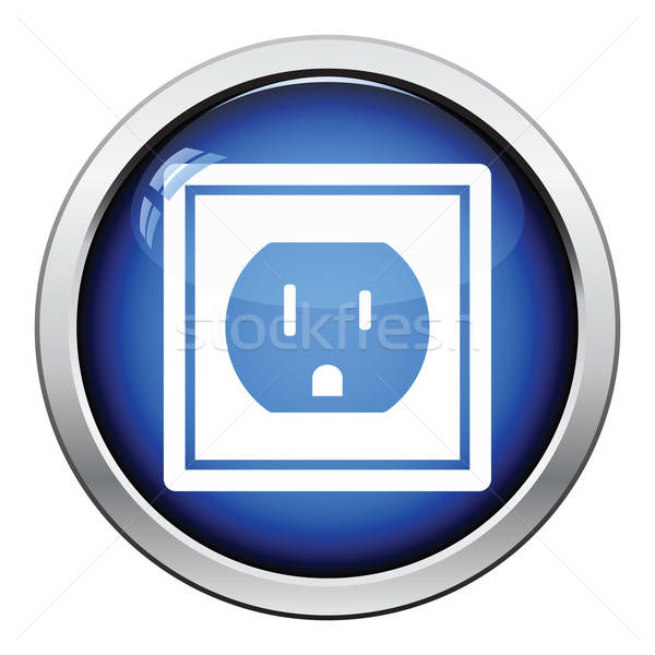 Electric outlet icon Stock photo © angelp