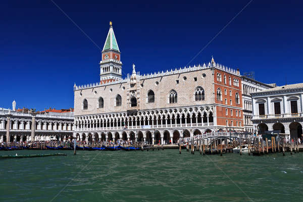 Campanile and doge palace Stock photo © angelp