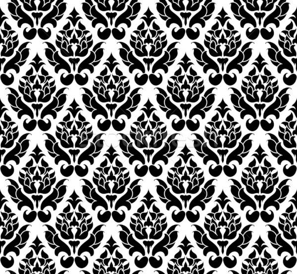 Damasc fara sudura vector model uşor Imagine de stoc © angelp