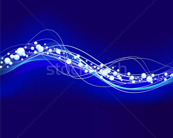 glowin water wavre Stock photo © angelp
