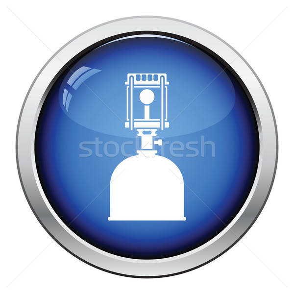 Camping gas burner lamp icon Stock photo © angelp