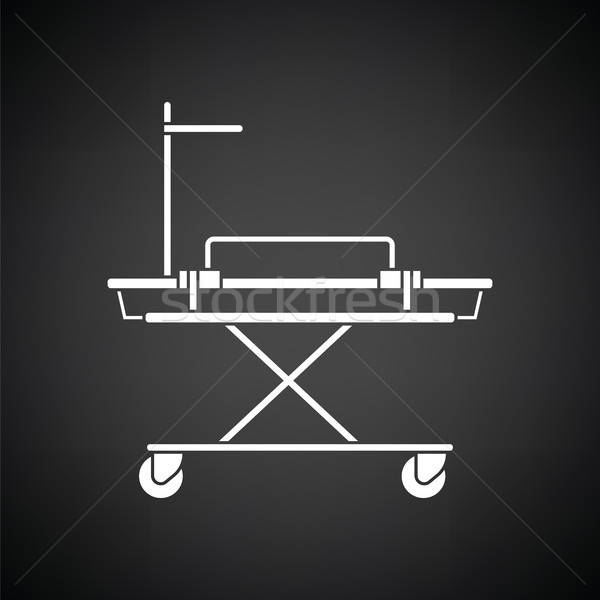 Medical stretcher icon Stock photo © angelp