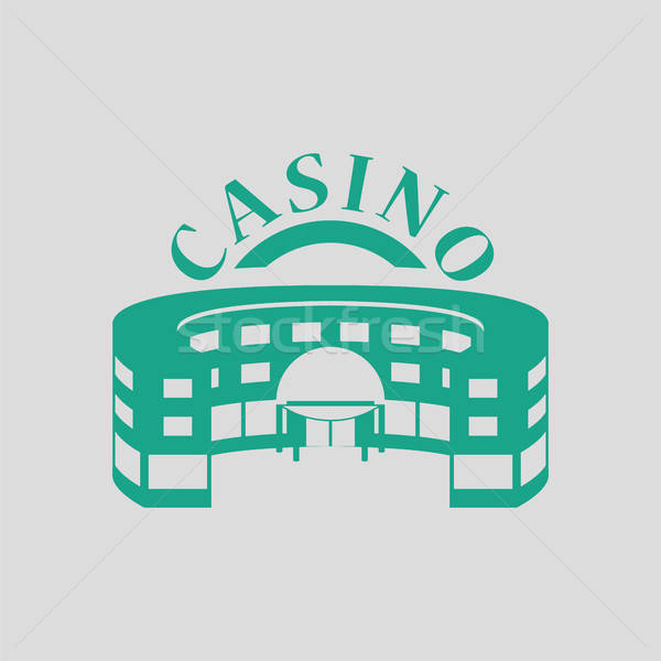 Casino building icon Stock photo © angelp