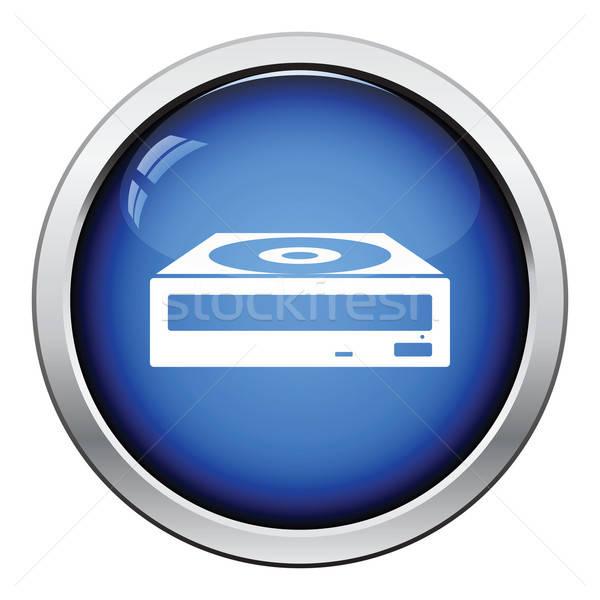 CD-ROM icon Stock photo © angelp