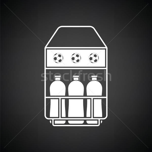 Soccer field bottle container  icon Stock photo © angelp