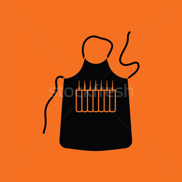 Artist apron icon Stock photo © angelp