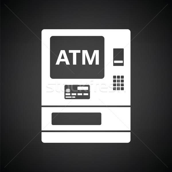 ATM icon Stock photo © angelp