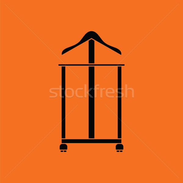 Hanger stand icon Stock photo © angelp