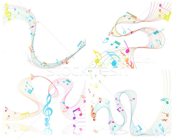 Musical Design Stock photo © angelp